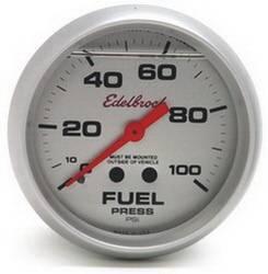Edelbrock - Edelbrock 73830 87 Nitrous System Fuel Pressure Gauge