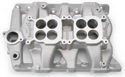 Edelbrock - Edelbrock 5450 Pontiac P-65 Dual-Quad Intake Manifold