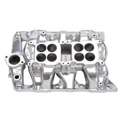 Edelbrock - Edelbrock 54501 Pontiac P-65 Dual-Quad Intake Manifold